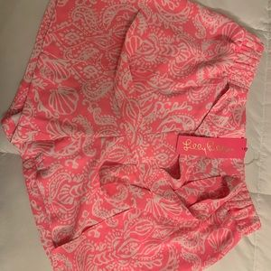 New with Tags Lily Pulitzer Mylee Tie Front Short